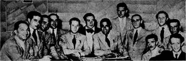 Orchestra Picture from 1937 featuring D'Arienzo and Biagi